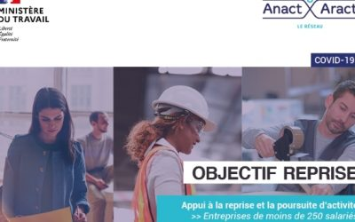 Covid 19 : Objectif Reprise – Dispositif d'aide pour les TPE-PME