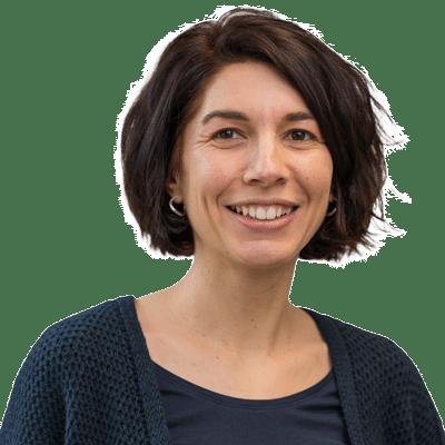Coralie Augé, chargée de communication et de digitalisation