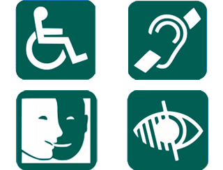 Pictogramme Personnes en situation de handicap